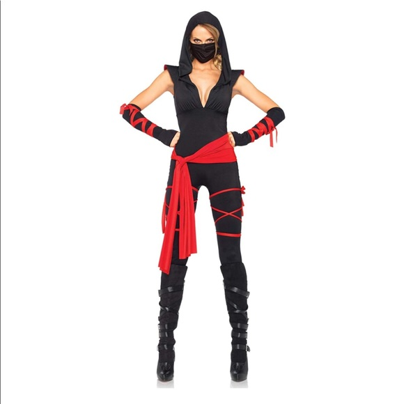 Deadly Ninja Halloween costume size L (10-12)